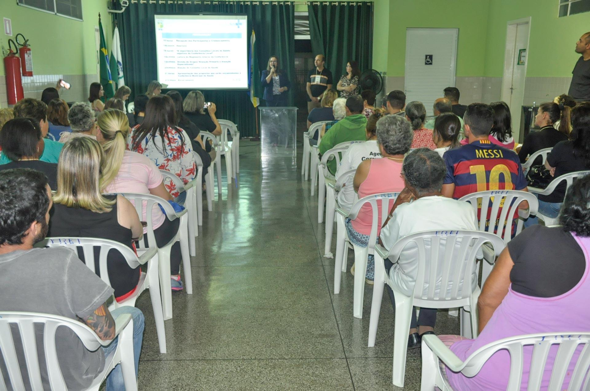 Conferência Local de Saúde é realizada no bairro Atuba