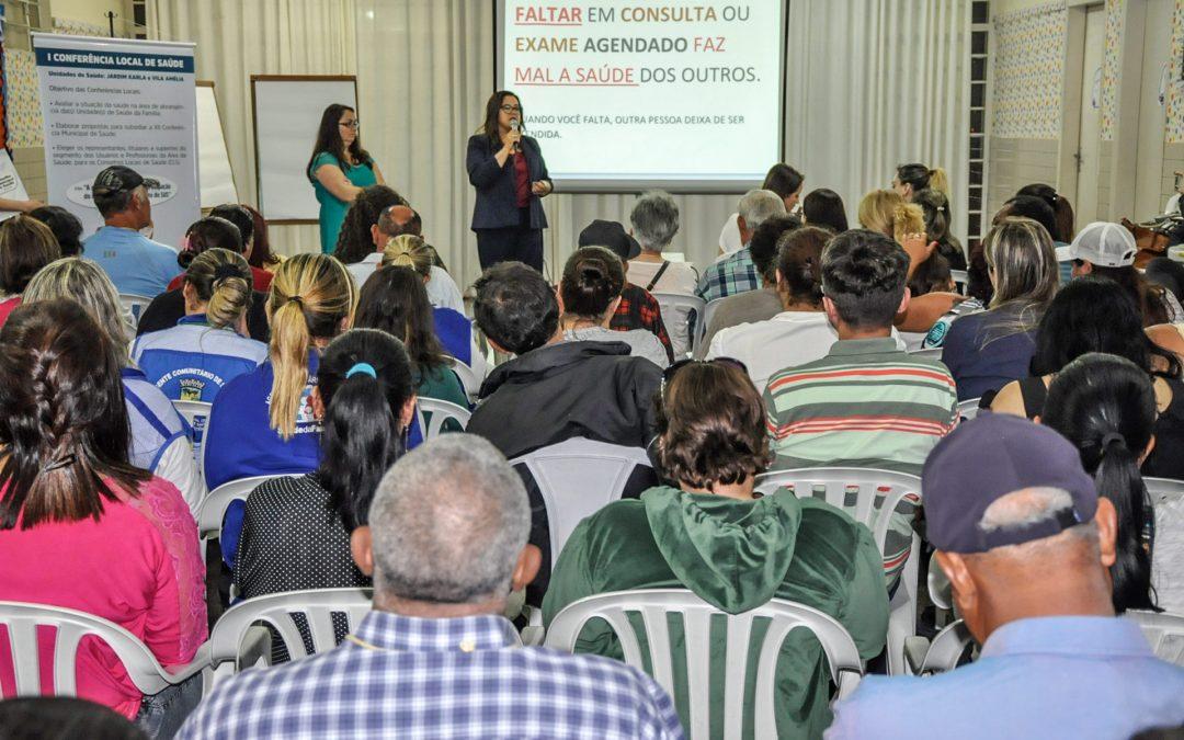 Conferência Local de Saúde é realizada no bairro Jardim Karla
