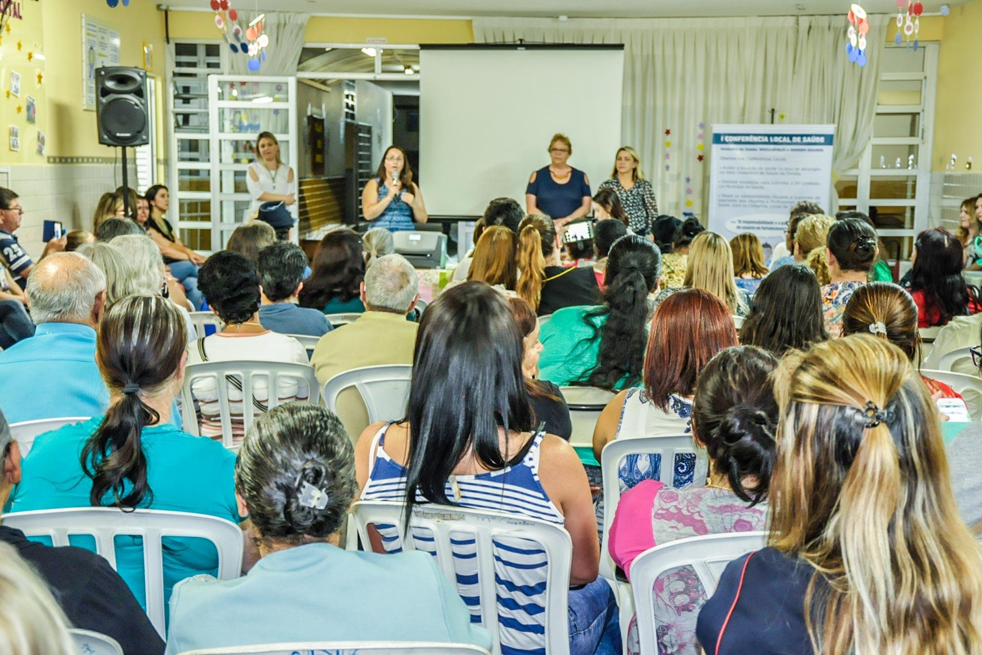 Conferência Local de Saúde é realizada no bairro Weissópolis