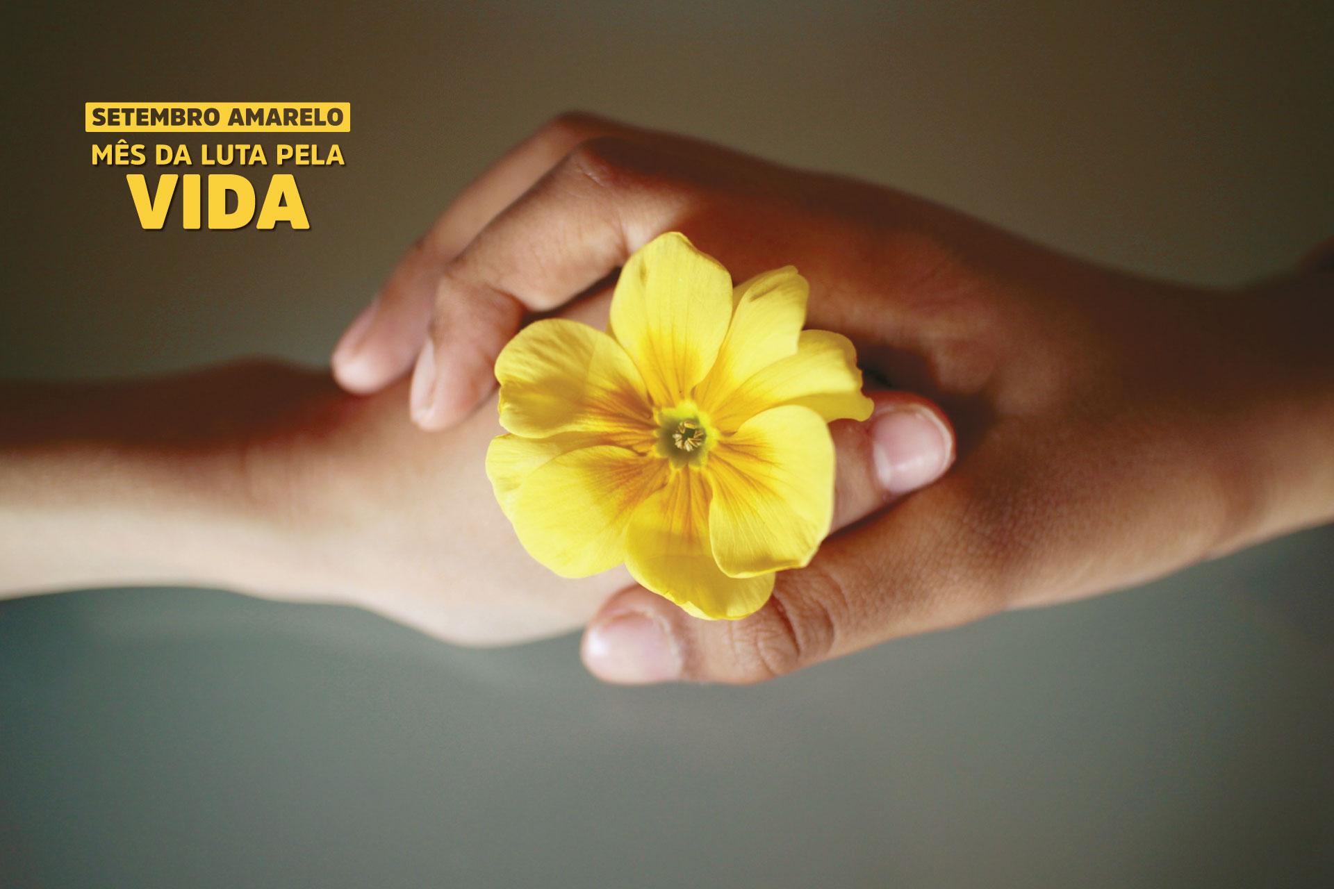 Prevenção ao suicídio é tema da Campanha Setembro Amarelo