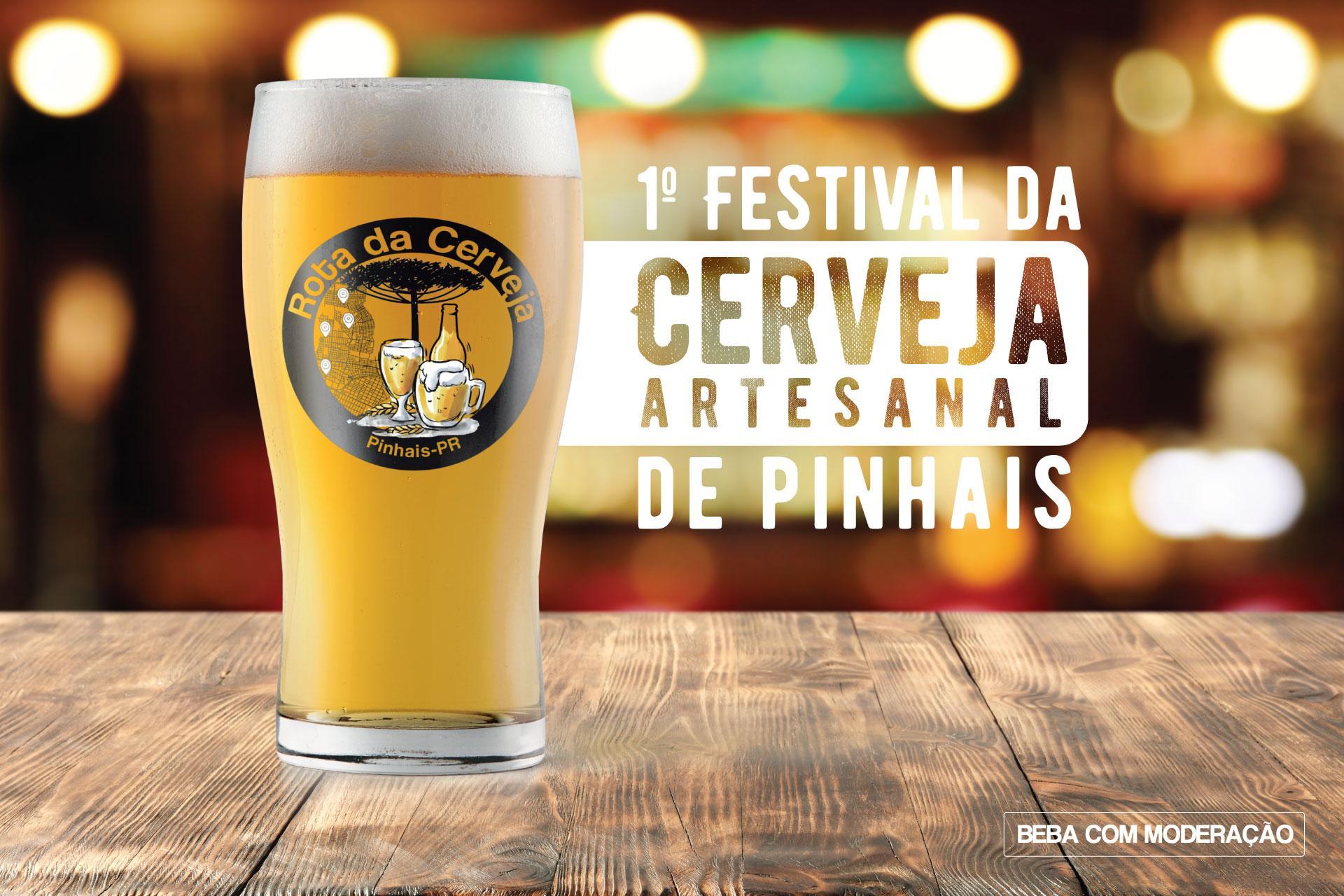 Dia 30 de setembro tem Festival da Cerveja em Pinhais