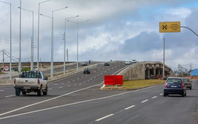 Novo viaduto de Pinhais já está liberado