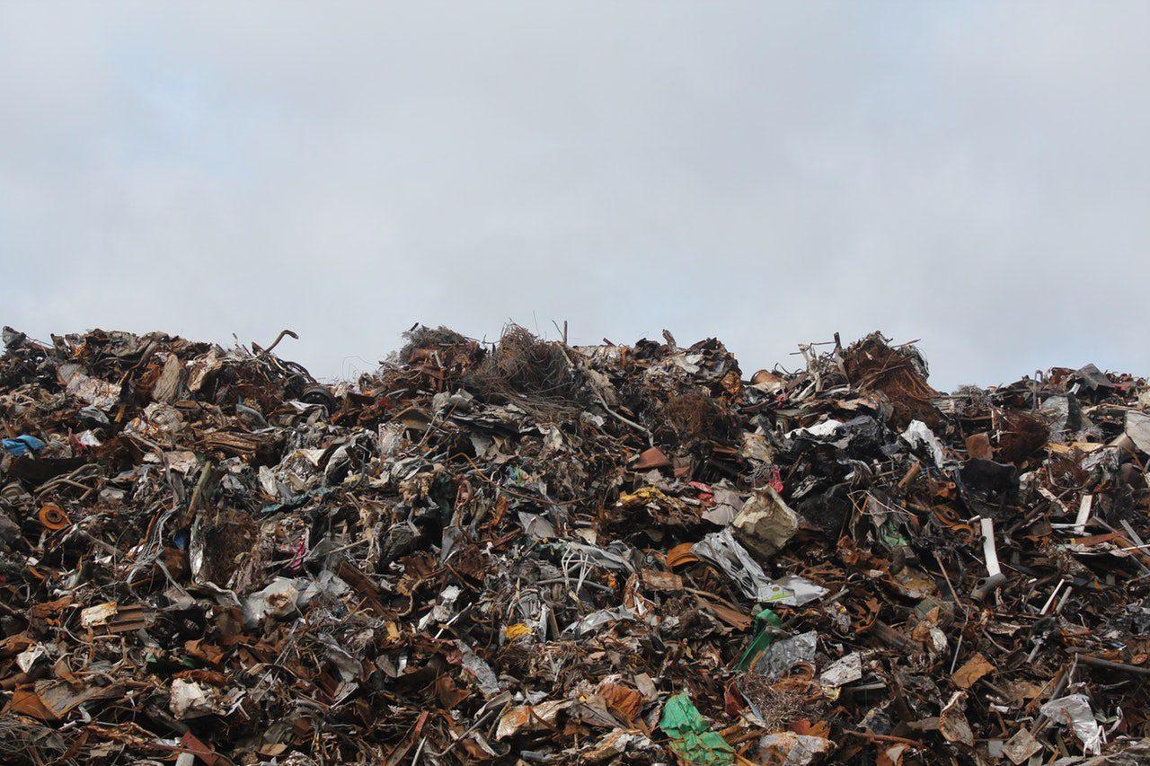 acúmulo de lixo