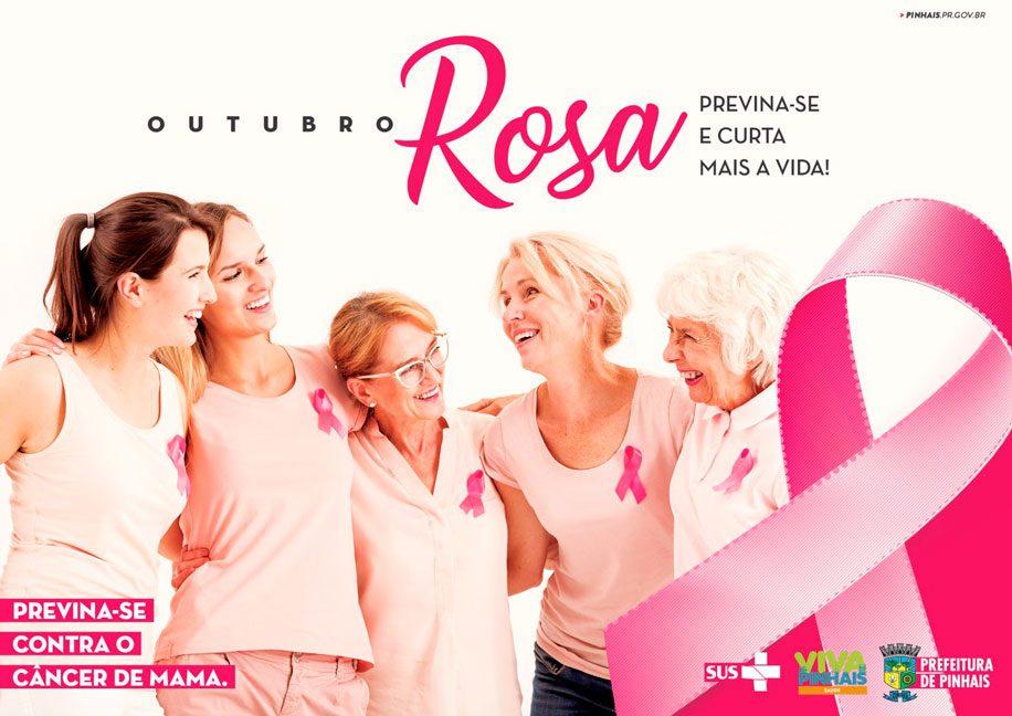 Campanha Outubro Rosa em Pinhais amplia atendimentos