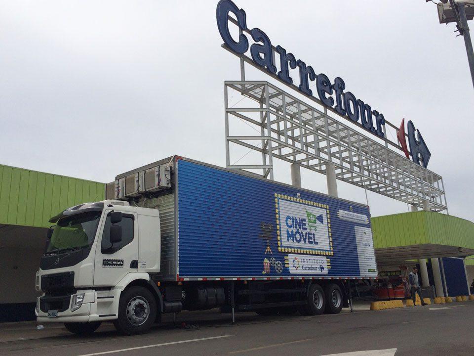 Cinemóvel Carrefour