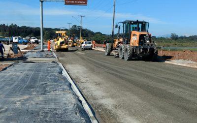 Obras no entorno do Parque das Águas estão em fase de finalização