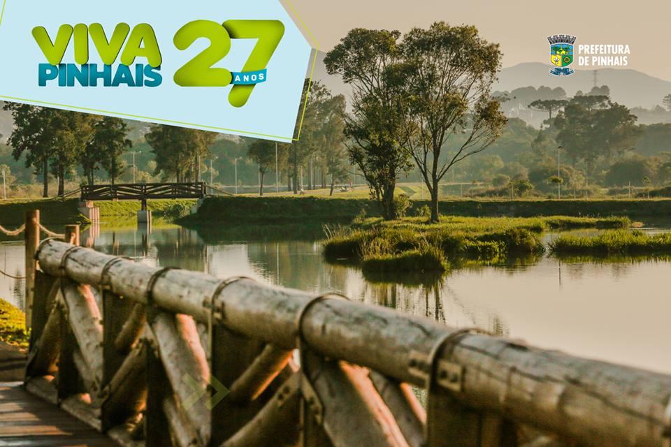Aniversário de 27 anos de Pinhais contará com inaugurações e serviços para a comunidade