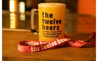 No The12Beers você toma 12 cervejas em 12 bares em 12 horas!
