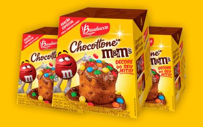 Bauducco lança edição limitada de Chocottone M&M's