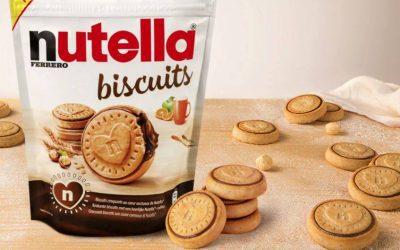 Ferrero lança bolacha recheada de Nutella