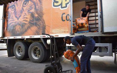 Banco de Ração Municipal recebe quase 1,5 toneladas de doações