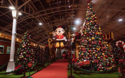 Shopping de Curitiba tem atividades de Natal inspiradas no universo mágico da Disney
