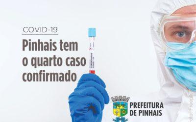 Pinhais confirma mais um caso de Covid-19