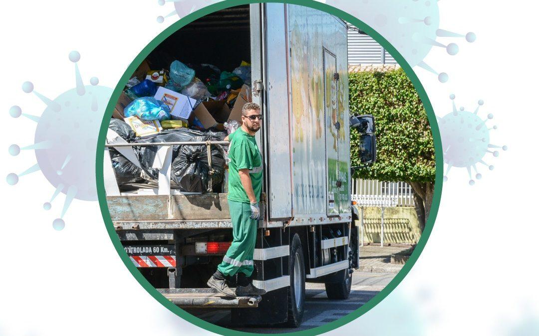 Pinhais suspende coleta de resíduos recicláveis