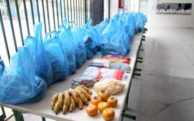 Escolas se preparam para mais uma entrega de alimentos da merenda