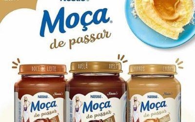 Novidade: Nestle lança Moça de passar em 3 sabores