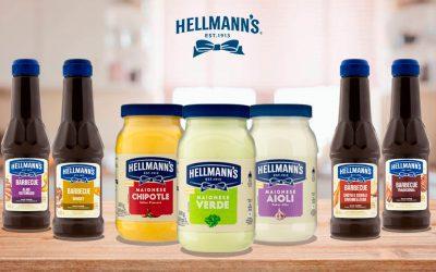 Hellmann's lança novas maioneses e molhos barbecue