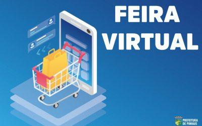 Adquira produtos artesanais dos feirantes do município pela internet
