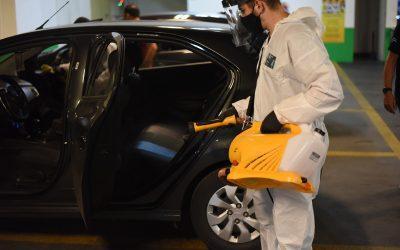 Uber inaugura Centro de Higienização no Shopping Curitiba