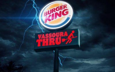 """Burger King dará Whopper de graça para quem for """"voando de Vassoura"""""""